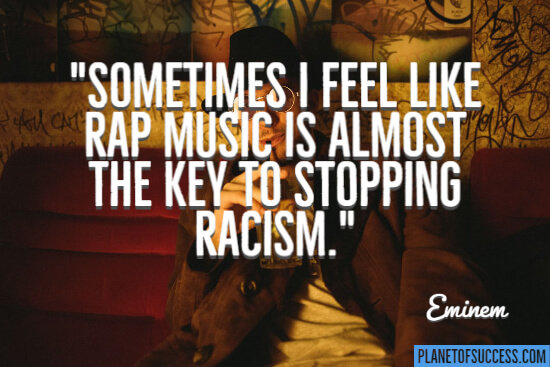 Key to stopping racism