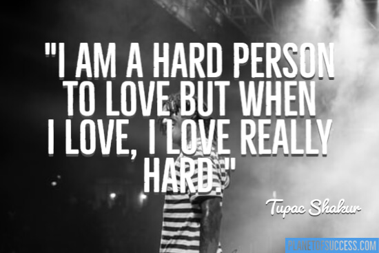 Hard person to love