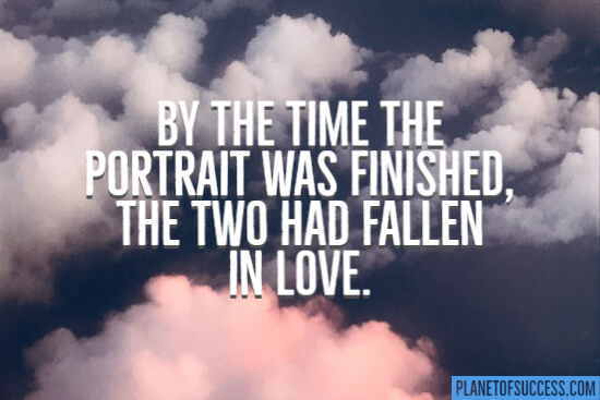 The two had fallen in love