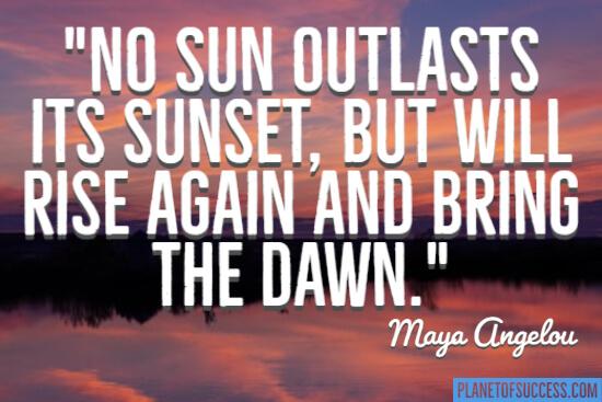 Bring the dawn