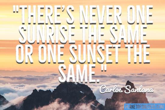 Never the same