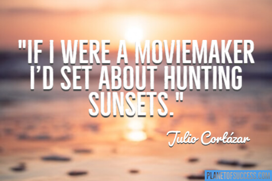Hunting sunsets