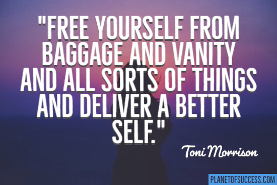 Free yourself from baggage