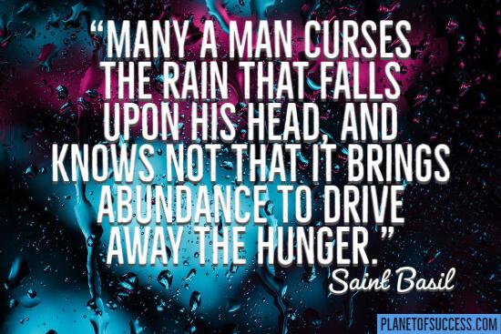 It brings abundance